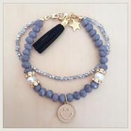 winter smile◡̈charm bracelet D