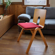 LA Chair(展示品/ブナ+別注張地)