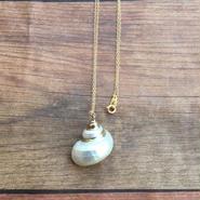 hawaiian shellネックレス*white