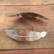featherバレッタ*silver