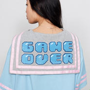 LAZY OAF/GAME OVER TEE