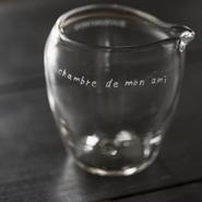 glass 手吹き片口  #2
