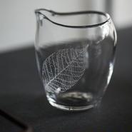 glass 手吹き片口  #1
