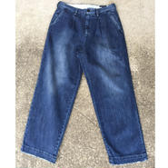 【RICCARDO METHA】One tuck wide trousers