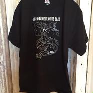 【SANFRANCISCO SKATE CLUB】Tシャツ タイプB