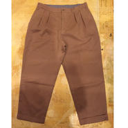 【CESTERS】TWILL 2PLEATS TROUSERS
