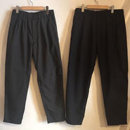 【TALKING ABOUT THE ABSTRACTION】Summer wool easy trousers