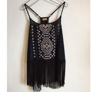 【INDIA FLAG】FRINGE CAMI