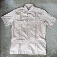 【D'Accord】GUAYABERA Cotton shirt
