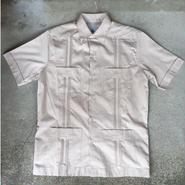 【D'Accord】GUAYABERA Cotton shirt
