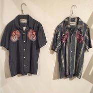【NOMA t.d.】Summer shirt-Paisley