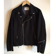 【NOMA t.d.】cutoff riders jacket