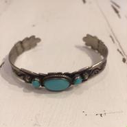 Indian jewely turquoise bangle