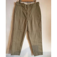 【TALKING ABOUT THE ABSTRACTION】Re-make Work Pants