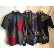 【TALKING ABOUT THE ABSTRACTION】Re-make Bandana P.O Shirt