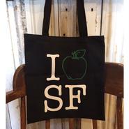 【Souvenir tote bag】GREEN APPLE BOOKs  タイプC