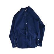 weac.(ウィーク)BIGMAN バンドカラーシャツ NAVY 0(XS)