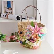 Flowerかごバッグ