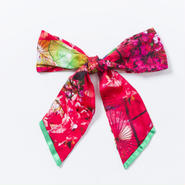 リボンスカーフ ( 和傘柄 )