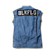 BLKFLG TYPE 3rd CUT OFF JEAN JKT