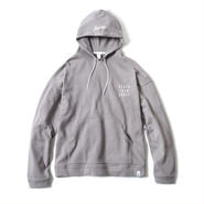 LOOSE FIT BASIC HOODIE(SILVER GREY)