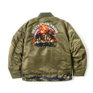 COMBINED BOMBER PUFF JKT