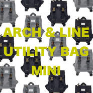 【ARCH&LINE】UTILITY BAG MINI ( GREY/BLACK)