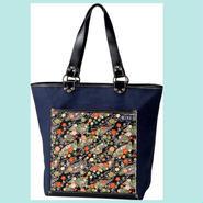 Tote bag (CHIRIMEN Black)