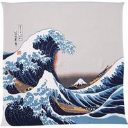 Wrapping cloth(Ukiyo-e,Hokusai wave,Tango Chirimen)