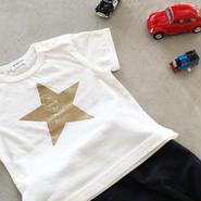 Baby 星の王子さまTシャツ(ホワイト)