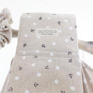 マロンコスリングsummer ver. Indian cotton ⚓︎ &ドット*L