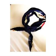 accordion  scarf