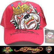 Ed Hardy エドハーディー BASIC CAP DOG 赤 (C2)
