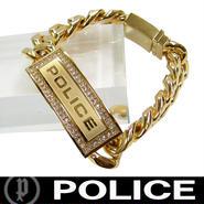 POLICE ポリス ブレスレット ストーン付き 市原隼人着用モデル LOWRIG (Y)