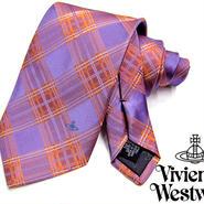 Vivienne Westwood ヴィヴィアンウエストウッド ネクタイ 新柄  (424)