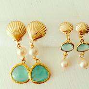 K14GFmermaid's earrings...❤︎ mini or big