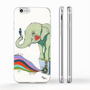 """POWER"" (elephant) iPhone Cover [ soft / hard ]"