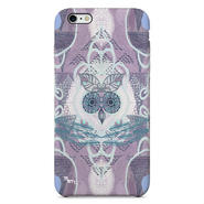 """Forest Owl"" フクロウ -purple-  iPhone 6/6s/5/5s/6plus/6s plus Cover [ soft / hard ]"