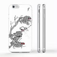 """""""Cock & hen"""" ニワトリ iPhone 6/6s/5/5s/6plus/6s plus Cover [ soft / hard ]"""