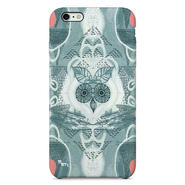 """Forest Owl"" フクロウ -gray-  iPhone 6/6s/5/5s/6plus/6s plus Cover [ soft / hard ]"