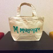 Miagolare オリジナルトートバッグ Sサイズ