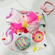 水ヨーヨーの浴衣*ピンク*Mサイズ