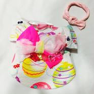 水ヨーヨーの浴衣*ピンク*Sサイズ
