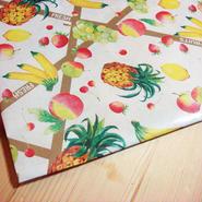 【ご予約オーダー主様専用】レトロ包装紙*フルーツ