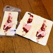 iPhone6/6S手帳ケースいちご