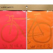 UNDER WHEEL【2-pack card】