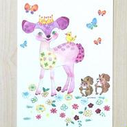 ポストカード〈バラ売り〉 バンビ_PC-Y116