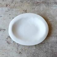 teto ceramic オーバルプレート(白マット)