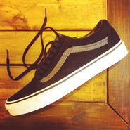 【VANS】Old Skool (Reptile)Black/Tornado