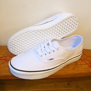 【VANS】Authentic Lite + (Canvas) True White